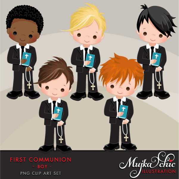 First communion boy clipart png library stock First Communion Clipart for Boys png library stock