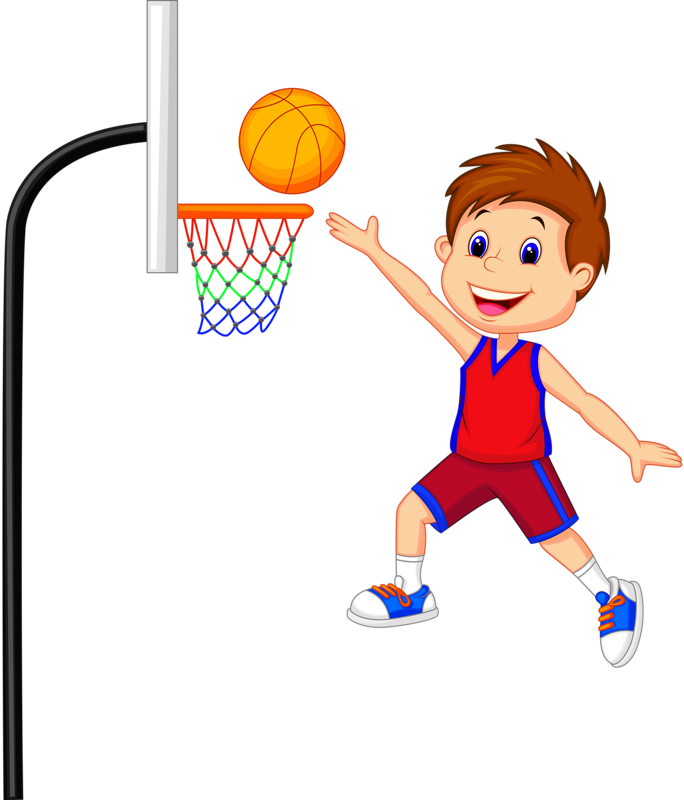 Clipart of kids playing basketball black and white 7.png | Pinterest | Clip art, Vacation bible school and Rock art black and white