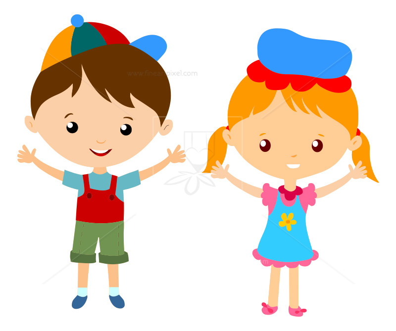 Boy girl clipart jpg free stock Boy And Girl Clipart 9 - 800 X 669 - Making-The-Web.com jpg free stock