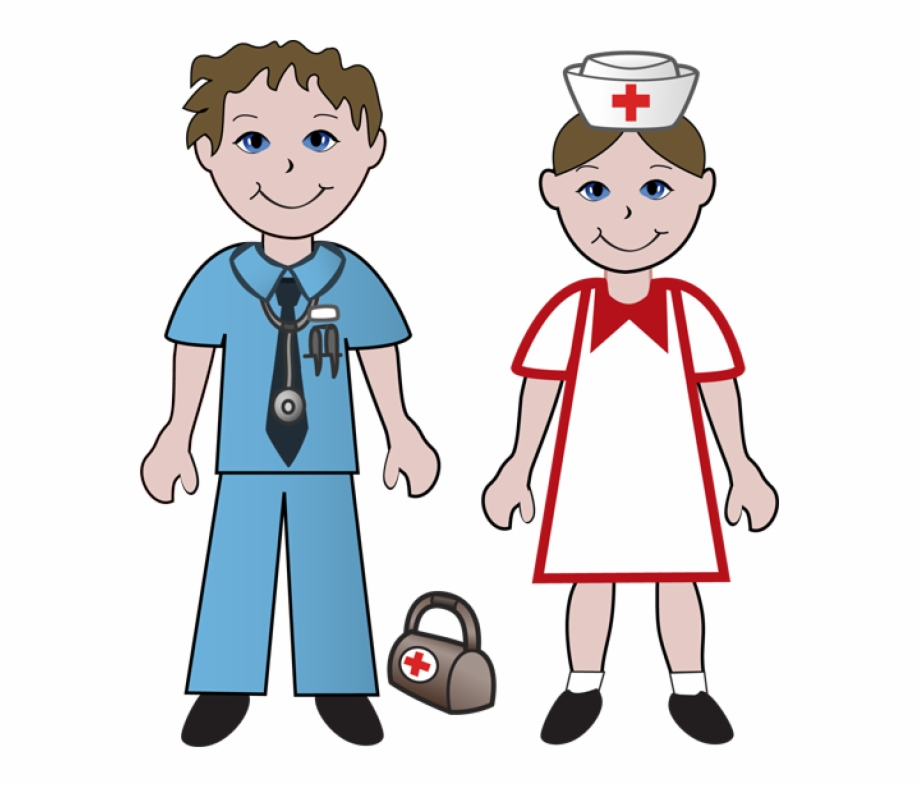 Boy girl clipart free svg royalty free library Boy And Girl Nurse Clipart Free - Doctor And Nurse Clipart ... svg royalty free library