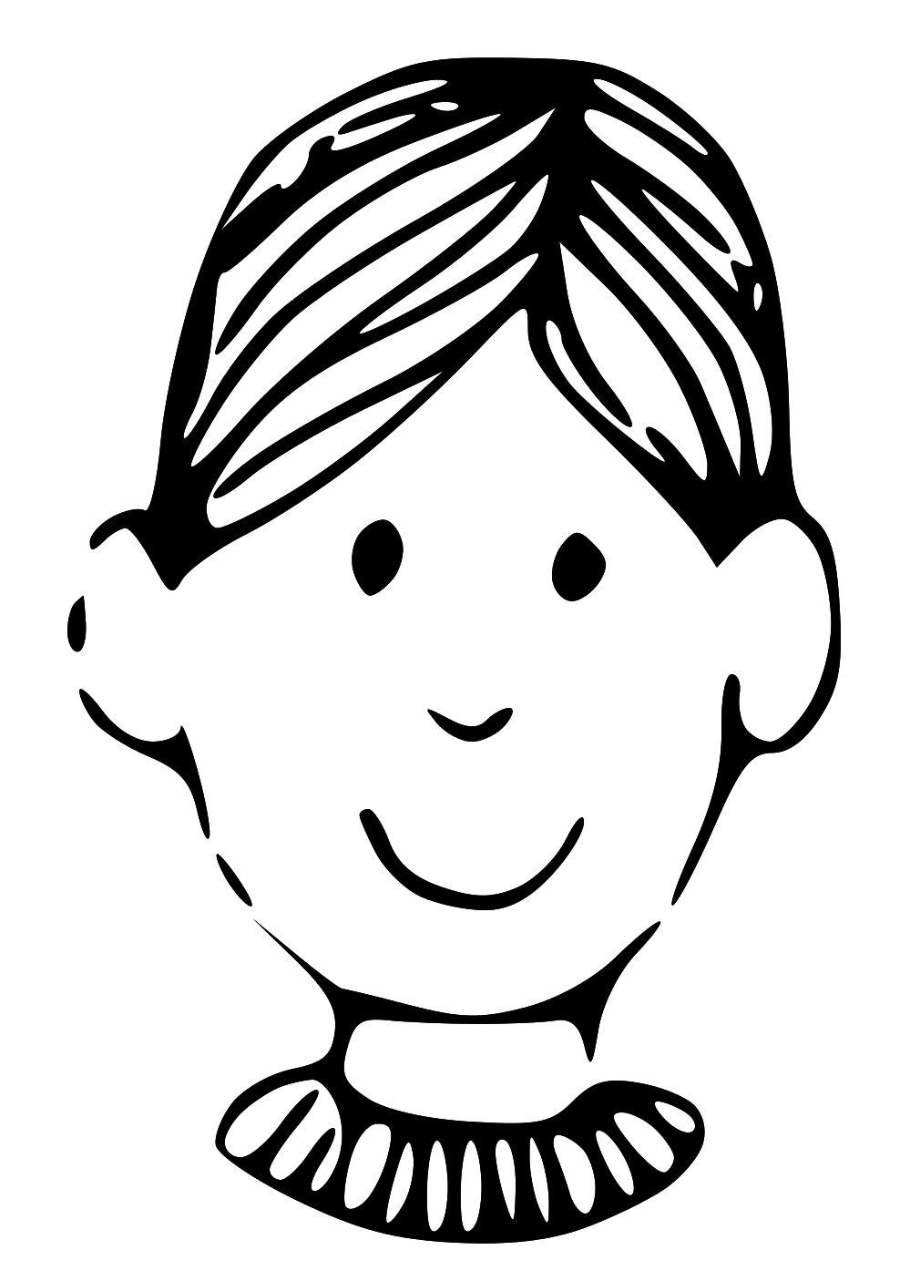 Boy girl face clipart black and white clip free download Free Boy Face Cliparts, Download Free Clip Art, Free Clip Art on ... clip free download