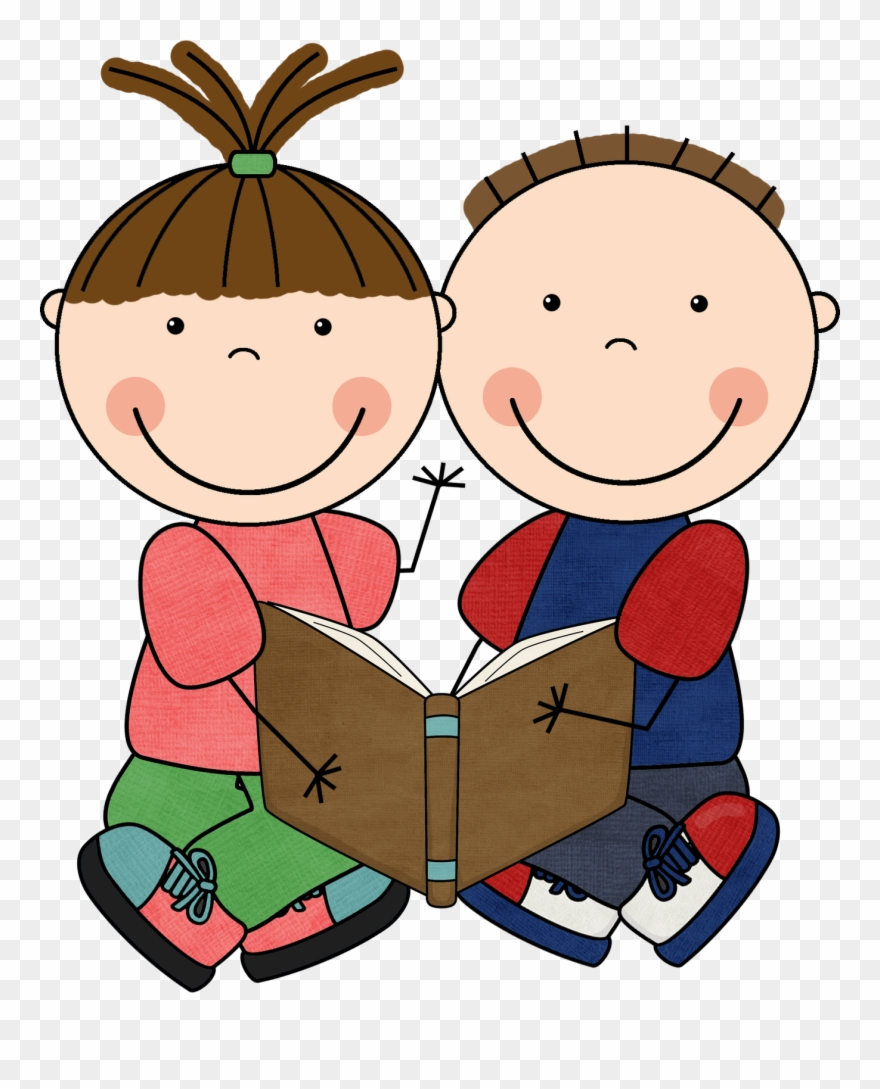 Self clipart jpg royalty free stock Read To Self Panda Free Images Daily - Boy And Girl Reading Clipart ... jpg royalty free stock