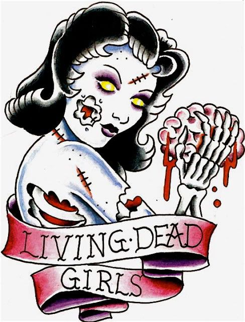 Boy holding dead girl in arms clipart picture free library zombie/living dead girl-- Wouldn\'t get it, but it\'s still cute ... picture free library