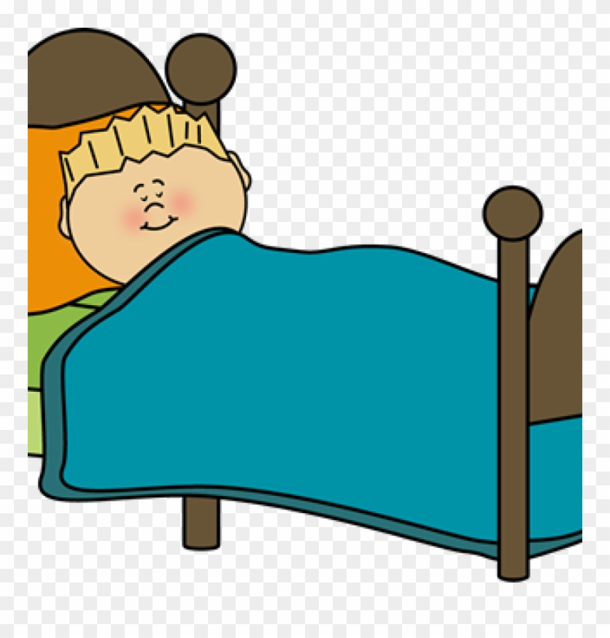 Going to sleep clipart