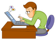Boy in front of a computer clipart clipart free download Free Computers Clipart - Clip Art Pictures - Graphics - Illustrations clipart free download