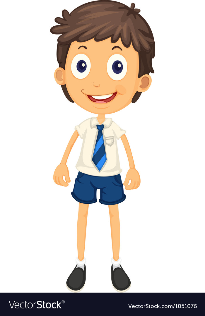 Free clipart grade school students in uniforms banner black and white library Boy in school uniform clipart 7 » Clipart Station banner black and white library