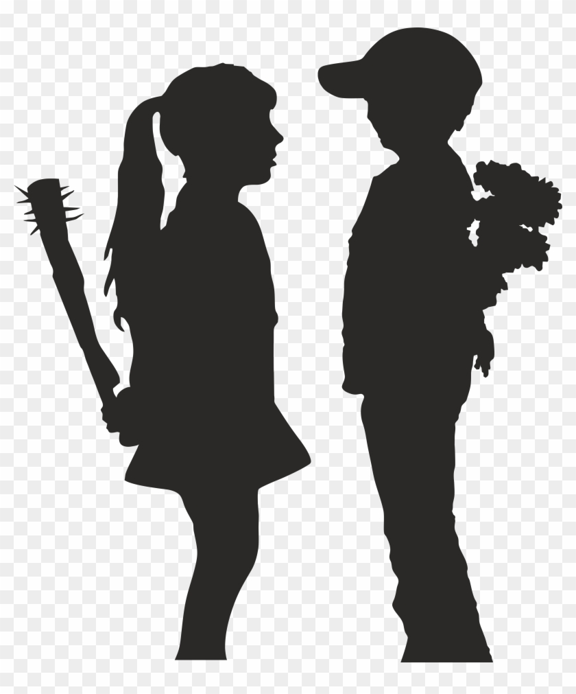Boy meets girl clipart svg transparent library Banksy Wallpapers - Banksy Boy Meets Girl, HD Png Download (#1347625 ... svg transparent library