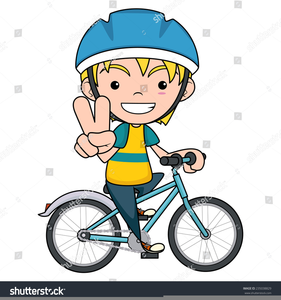 Boy on a bike clipart graphic free download Boy Riding A Bike Clipart   Free Images at Clker.com - vector clip ... graphic free download