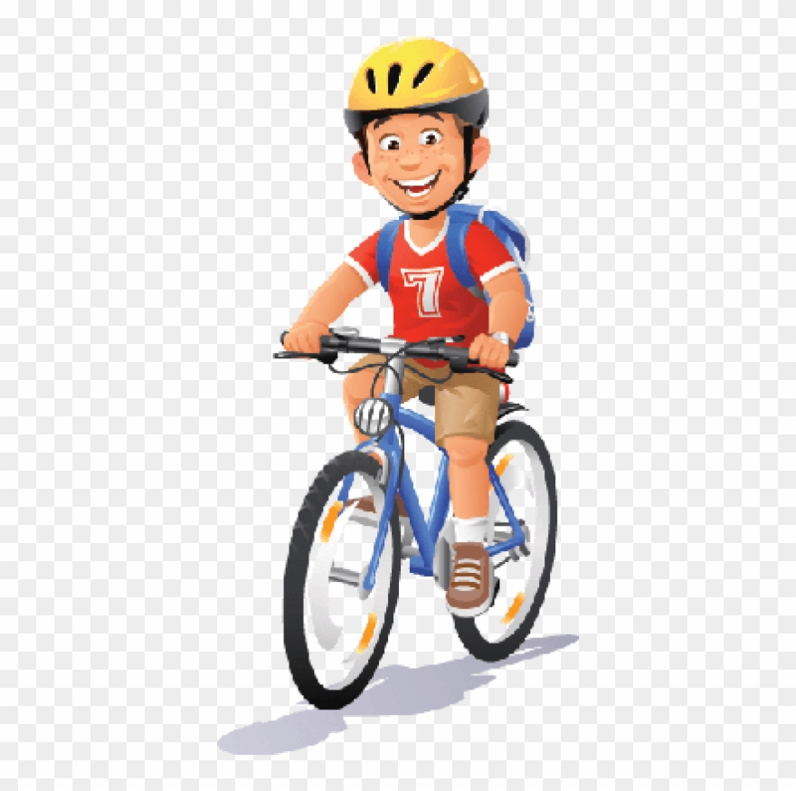 Boy on a bike clipart clip royalty free Bikes And Bicycles Boy Ridi - Ride A Bike Clipart Png Transparent ... clip royalty free