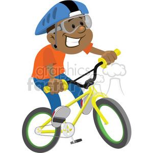 Boy on a bike clipart clipart royalty free boy riding a bike clip art image clipart. Royalty-free clipart # 393874 clipart royalty free