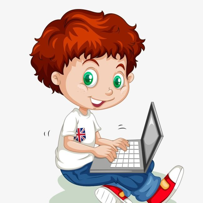 Boy on computer clipart graphic royalty free library Boy On Computer Clipart & Free Clip Art Images #24374 - Clipartimage.com graphic royalty free library