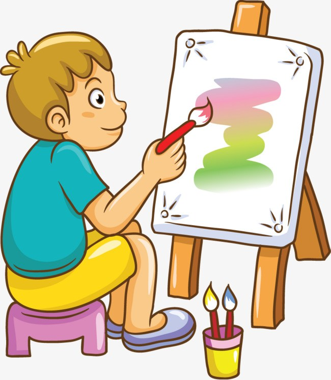 Boy painting clipart clip art library library Boy painting clipart 7 » Clipart Portal clip art library library