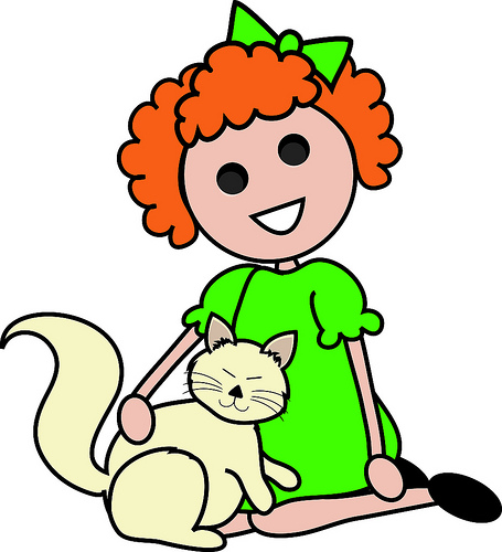 Boy petting clipart svg library Boy Petting Clipart - Clip Art Library svg library