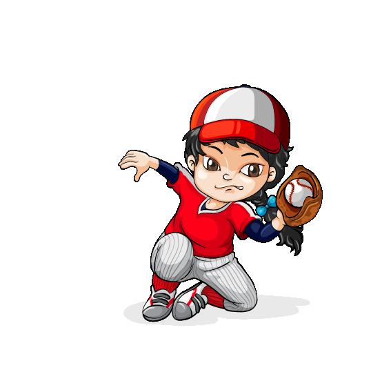 Girl hitting baseball clipart moving clipart jpg free library Baseball Softball Pitcher Clip art - Cartoon boy 567*565 transprent ... jpg free library