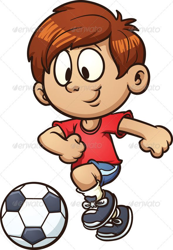 Kids playing soccer clipart clip art freeuse library Pin by Melanie Arnold on Doodles and drawings | Cartoon kids, Kids ... clip art freeuse library