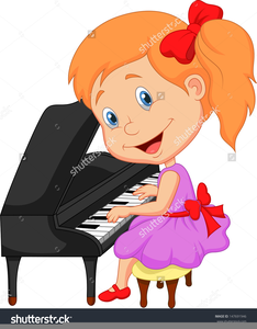 Kids playing piano clipart jpg freeuse Child Playing Piano Clipart | Free Images at Clker.com - vector clip ... jpg freeuse
