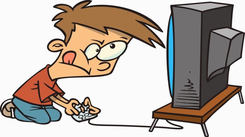 Boy playing video games clipart clip free stock Do Video Games Cause Violence {In-Depth Research} |TechAnimate clip free stock