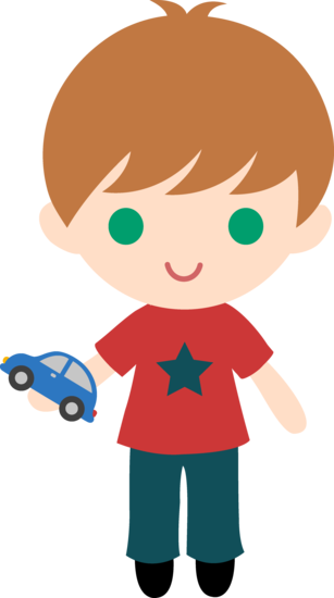 I wish i had a car clipart svg library Boy With Toy Car Clipart - Free Clip Art svg library