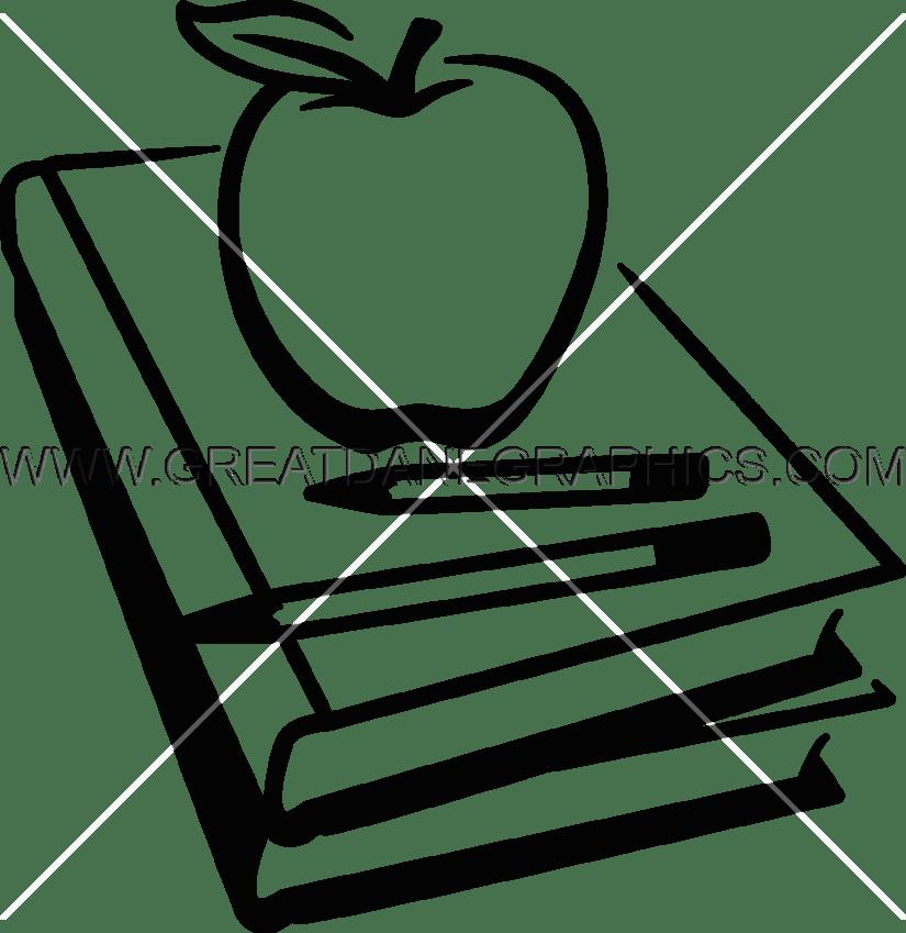 School book clipart black and white jpg freeuse School Books Clipart Black And White | Free download best School ... jpg freeuse