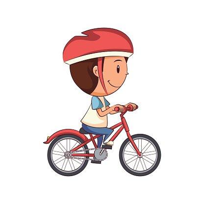 Boy riding bike clipart transparent stock Child Riding Bike premium clipart - ClipartLogo.com transparent stock
