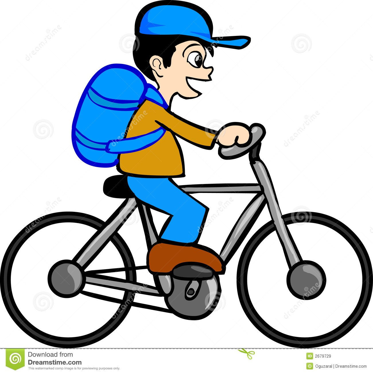 Boy riding bike clipart clip art black and white Boy riding bicycle clipart 8 » Clipart Portal clip art black and white