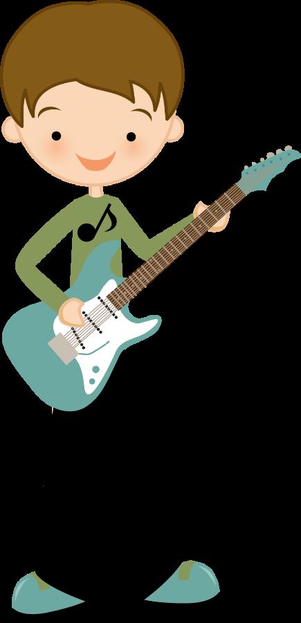 Boy rock star clipart png black and white Música - Minus | Niños | Pinterest | Boys playing, Clip art and ... png black and white