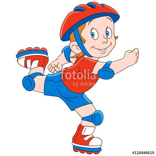 Boy roller skating clipart clip freeuse Rollerskating Clipart | Free download best Rollerskating Clipart on ... clip freeuse