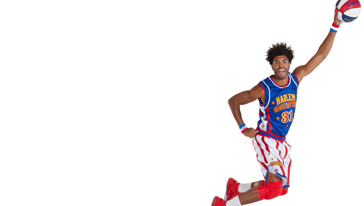 Boy shooting basketball clipart svg black and white stock Harlem Globetrotters svg black and white stock