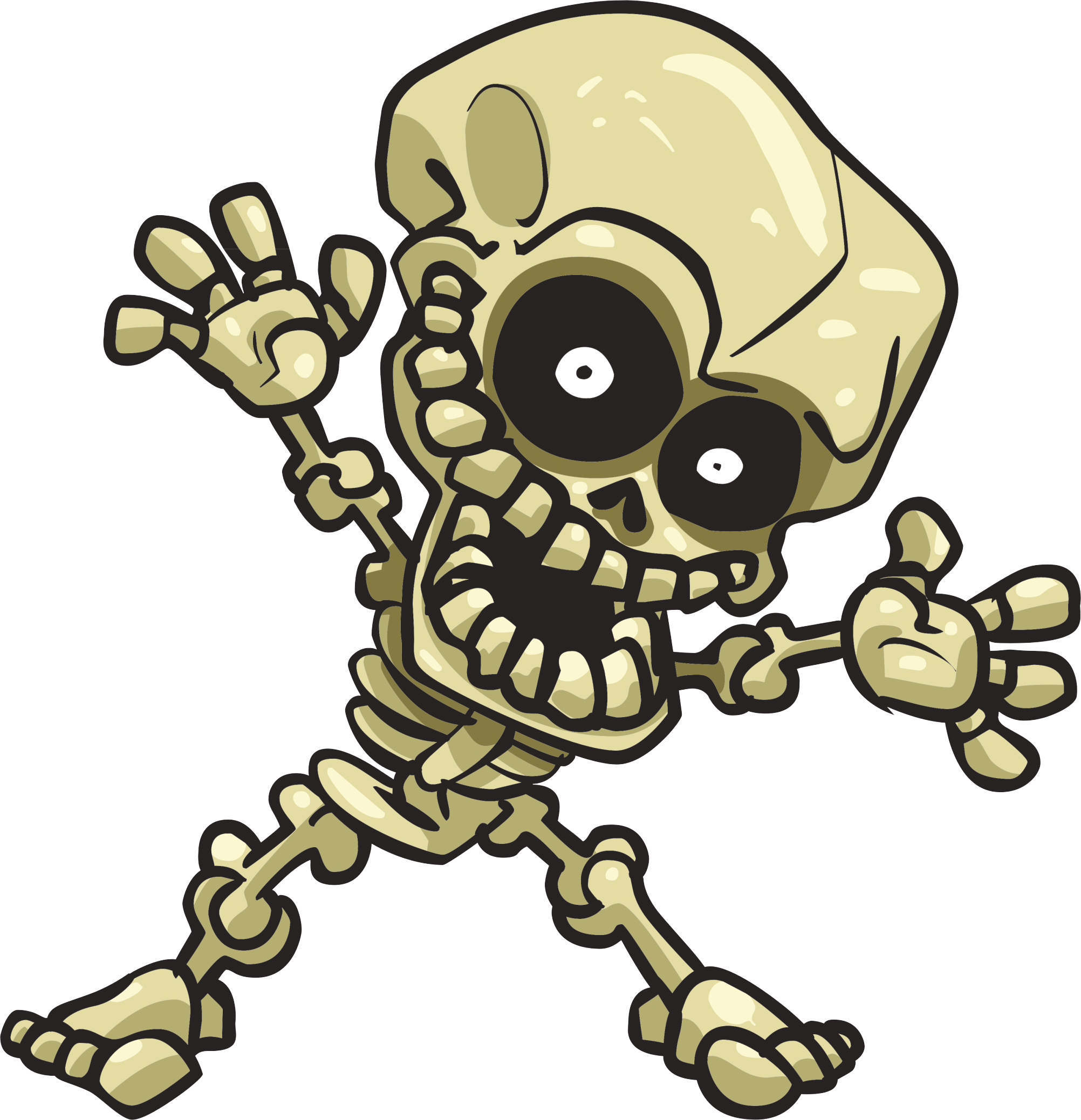 Scared baseball clipart clip black and white Cartoon Skeleton Clipart at GetDrawings.com | Free for personal use ... clip black and white