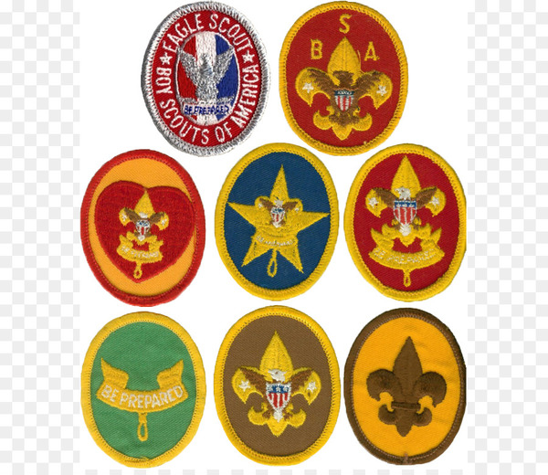 Boy scout badge clipart vector transparent stock Ranks in the Boy Scouts of America Eagle Scout Cub Scouting - Merit ... vector transparent stock