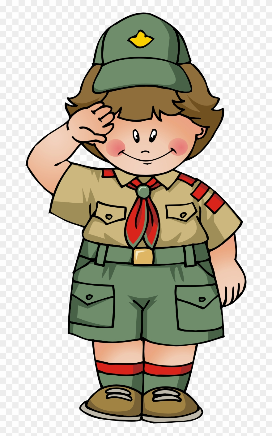 Boy scout smile clipart clipart library stock Boy Scouts Clipart - Boy Scout Clipart Png Transparent Png (#473141 ... clipart library stock