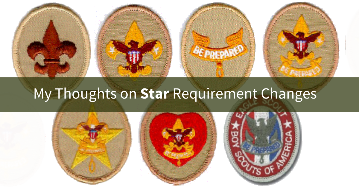 Boy scout star rank clipart clipart library download New Star Rank Requirements | Scoutmastercg.com clipart library download
