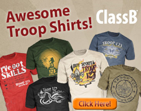 Boy scout tee shirt designs clipart graphic royalty free library Scout BSA Troop Trailer Graphics - ClassB® Custom Apparel and Products graphic royalty free library