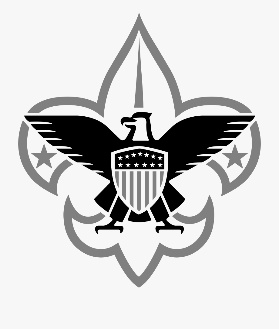 Svg scouts clipart black and white free graphic black and white Boy Scouts 1 Logo Png Transparent & Svg Vector - Boy Scouts Of ... graphic black and white