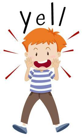 Yell for help clipart clipart royalty free download Boy screaming clipart 2 » Clipart Portal clipart royalty free download