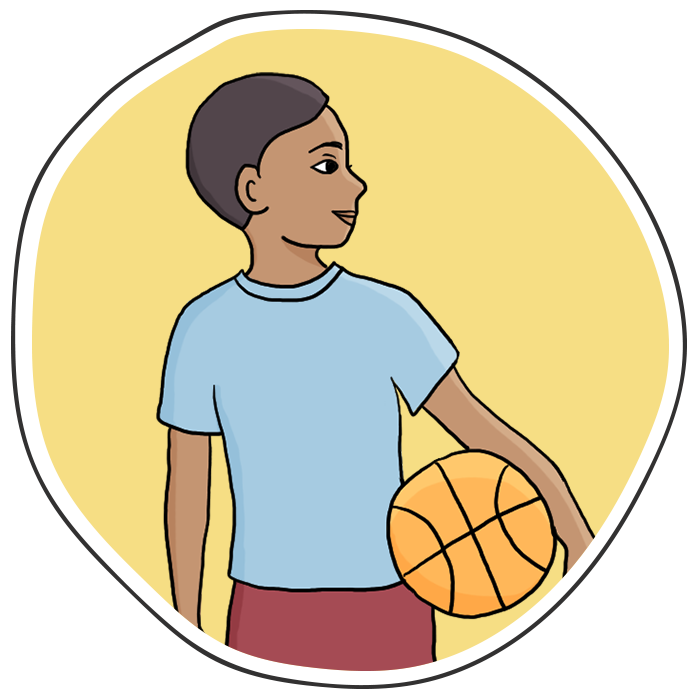 Boy shooting basketball clipart png freeuse Connecting the Dots png freeuse