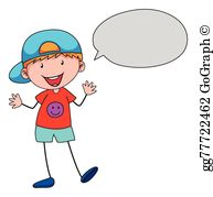 Boy shouting clipart graphic free download Boy Talking Clip Art - Royalty Free - GoGraph graphic free download