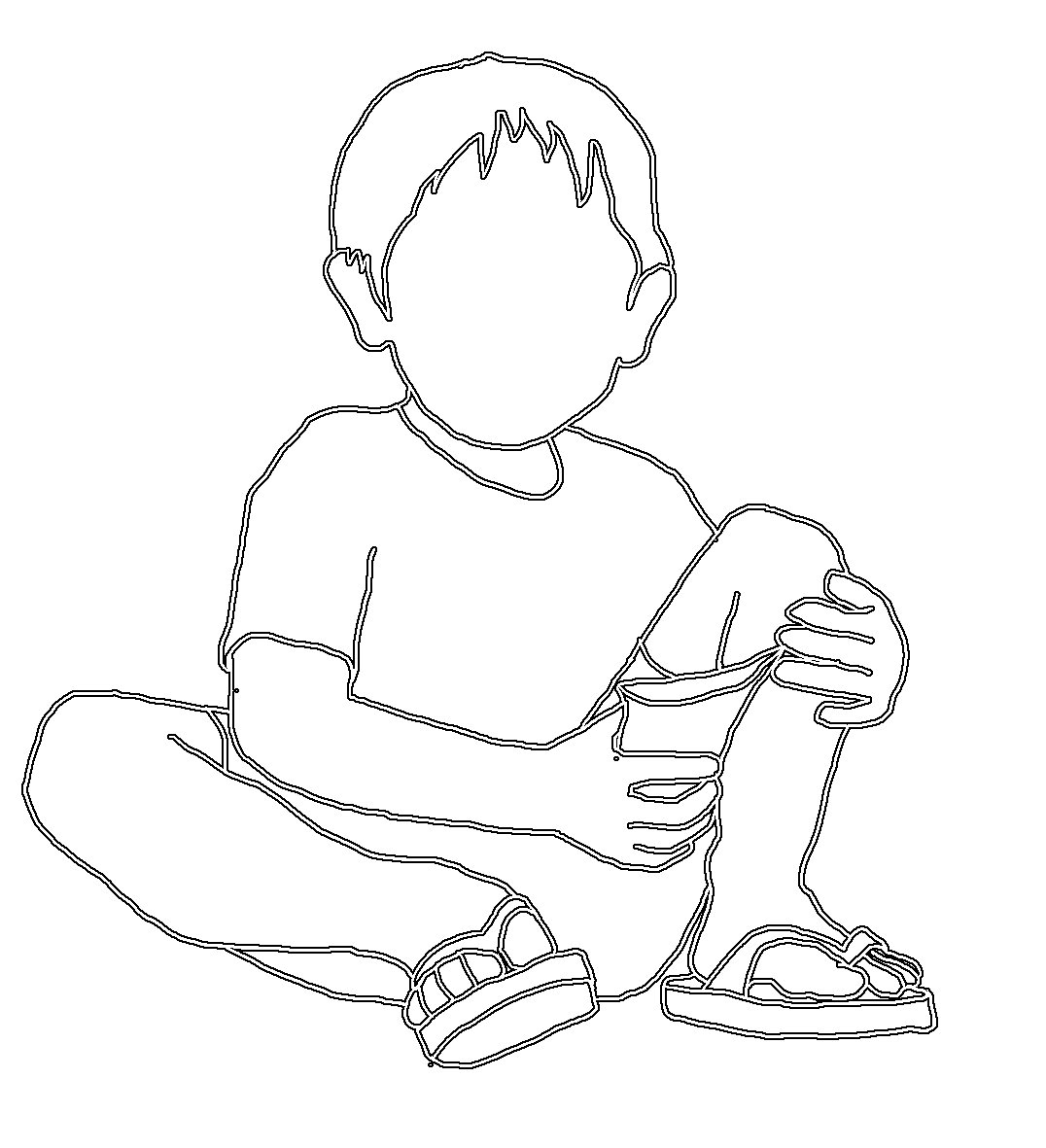 Children sitting criss cross clipart banner freeuse library Boy Sitting Drawing at GetDrawings.com | Free for personal use Boy ... banner freeuse library