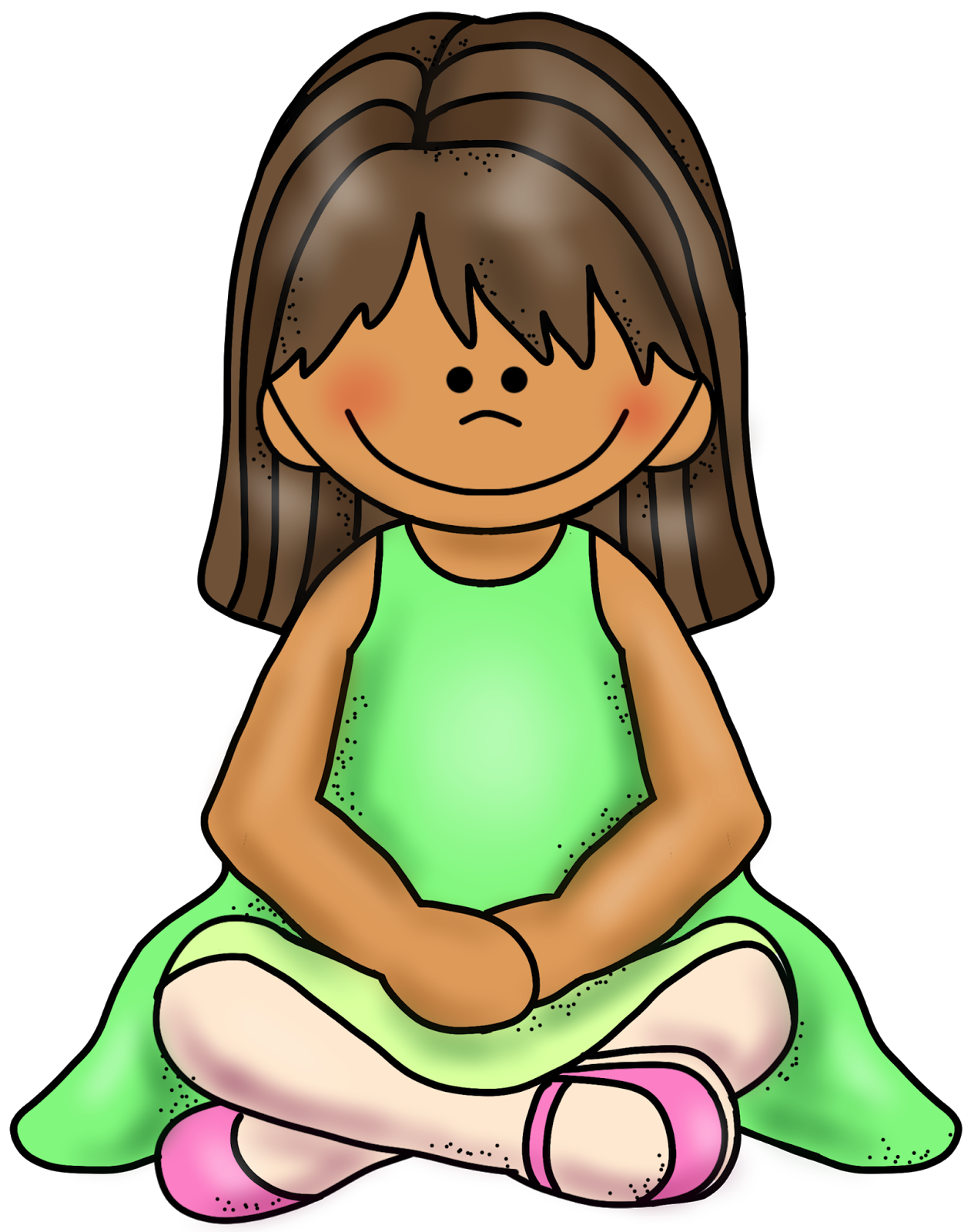 Clipart child sitting criss cross image royalty free stock Child Sitting Cross Legged Clipart (15+) image royalty free stock