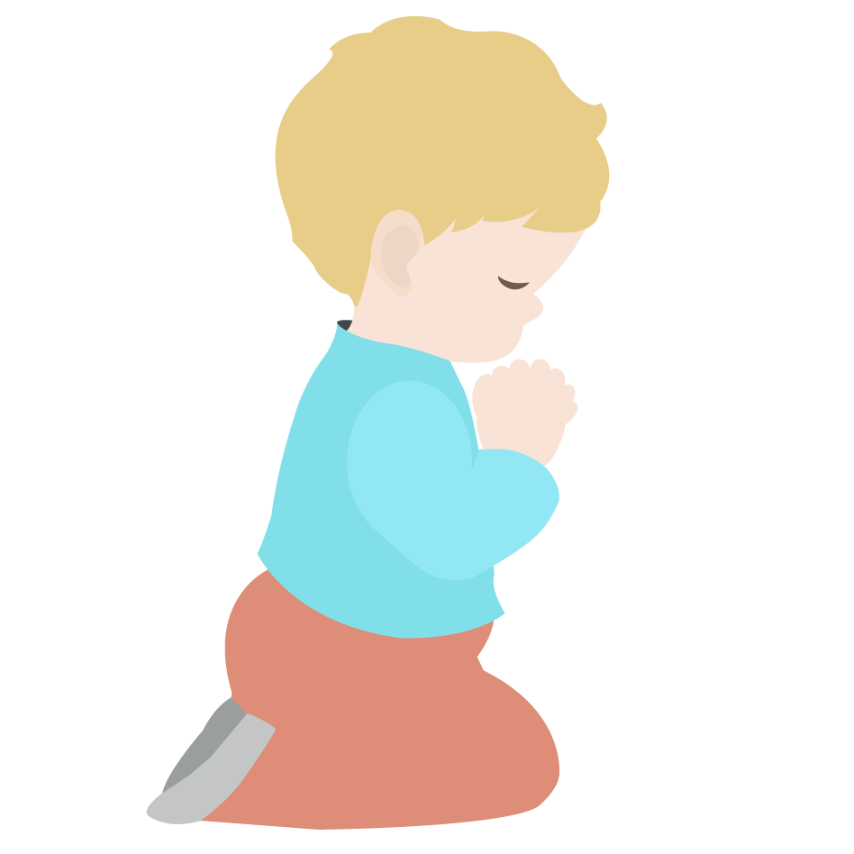 Thanksgiving praying clipart picture royalty free library Child Praying Drawing at GetDrawings.com | Free for personal use ... picture royalty free library