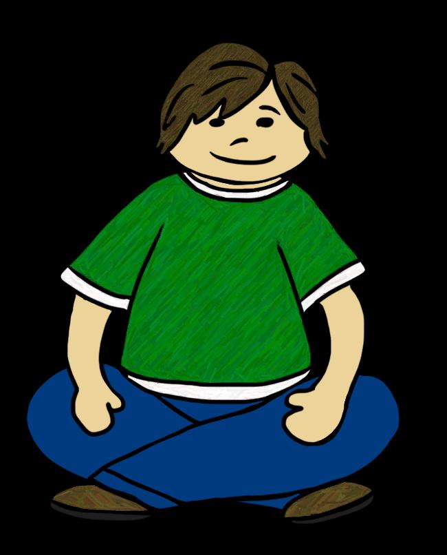 Child sitting cross legged clipart banner free stock Sitting Cross Legged Clipart (14+) banner free stock