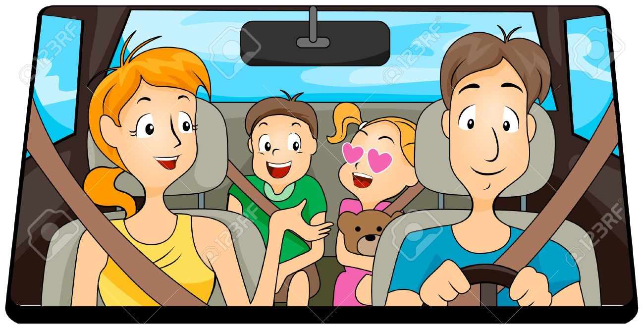 Boy sitting in backseat of car clipart png freeuse download Free Family Travel Cliparts, Download Free Clip Art, Free Clip Art ... png freeuse download