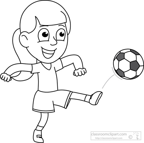 Boy soccer player clipart black and white free stock boy playing Soccer clipart black and white drawing of a boy is ... free stock
