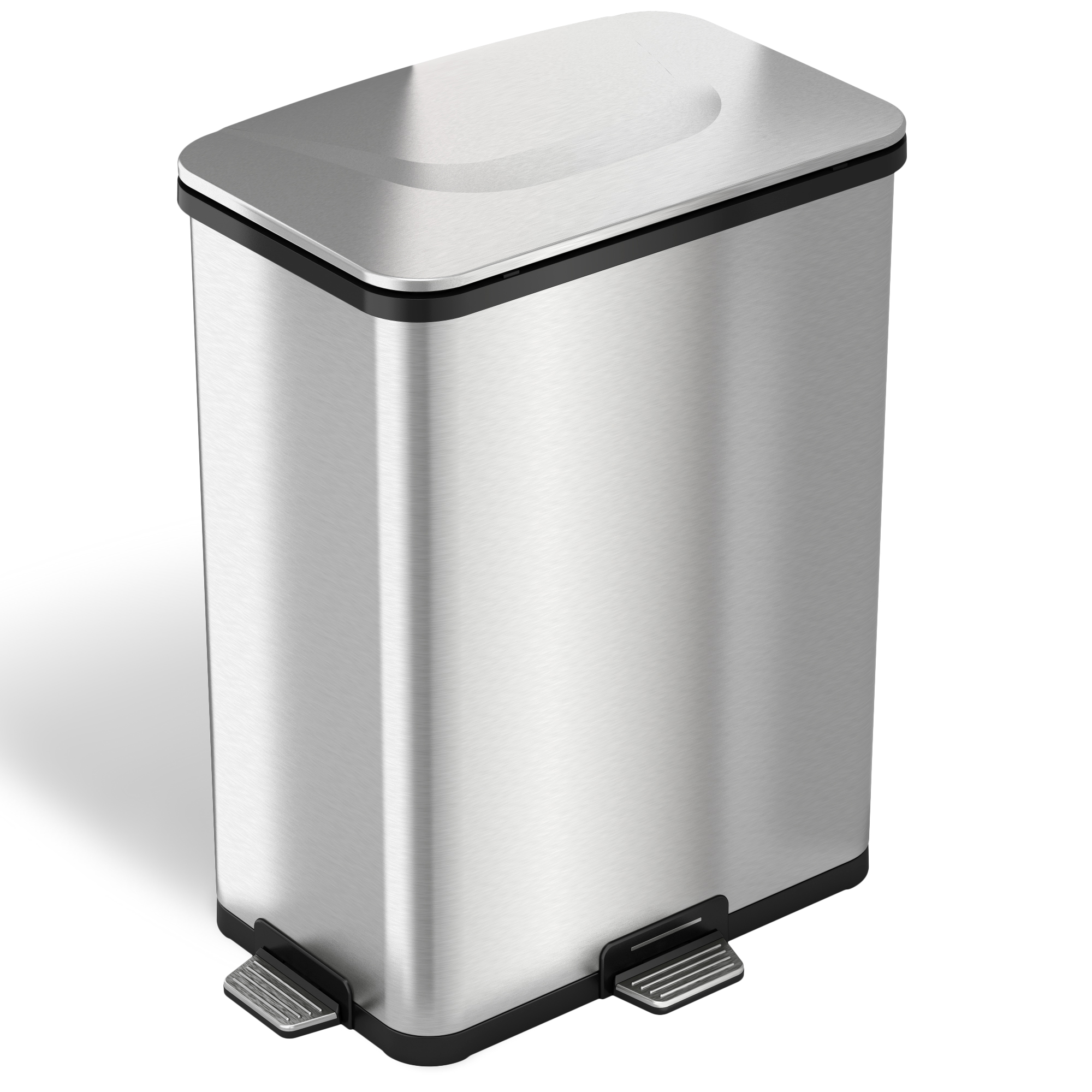 Boy stepping on garbage can pedal clipart picture library Factory Direct: Kitchen Trash Can With Lid For Office Bedroom Step ... picture library