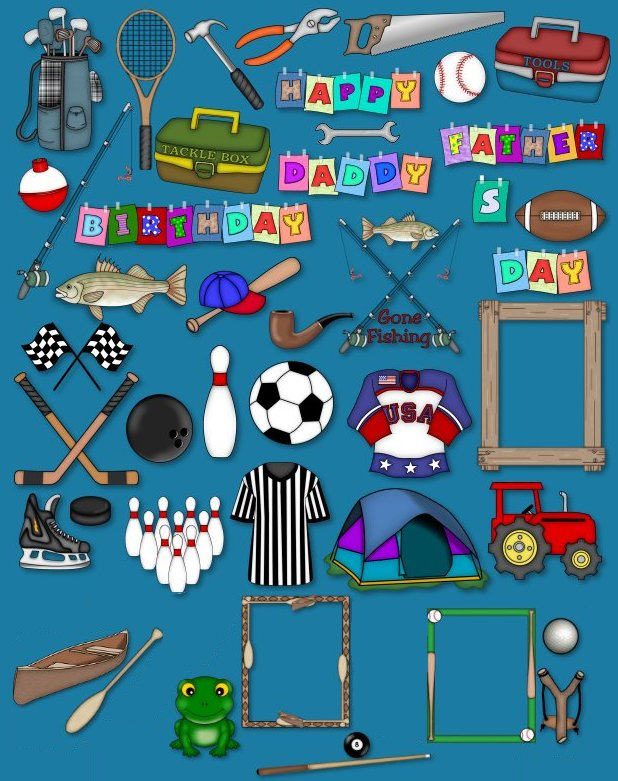 Boy stuff clipart clipart transparent library Guy Stuff - Clip Art Library clipart transparent library