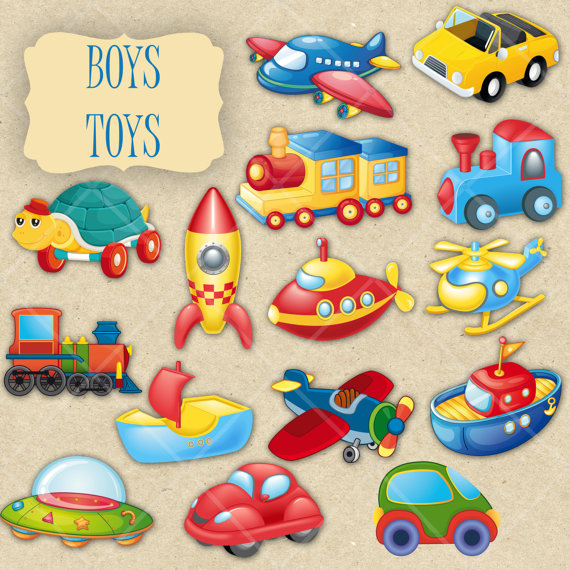 Boy stuff clipart svg freeuse stock 15 PNG Cartoon Boy Toys Clipart Elements by DigitalVintageDreams ... svg freeuse stock