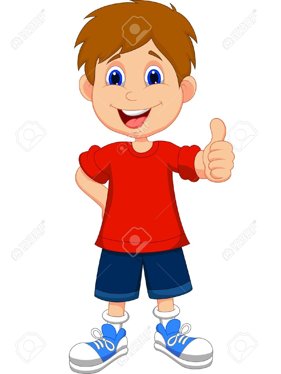 Boy thumbs up clipart picture library library Thumbs up kid clipart - ClipartFest picture library library