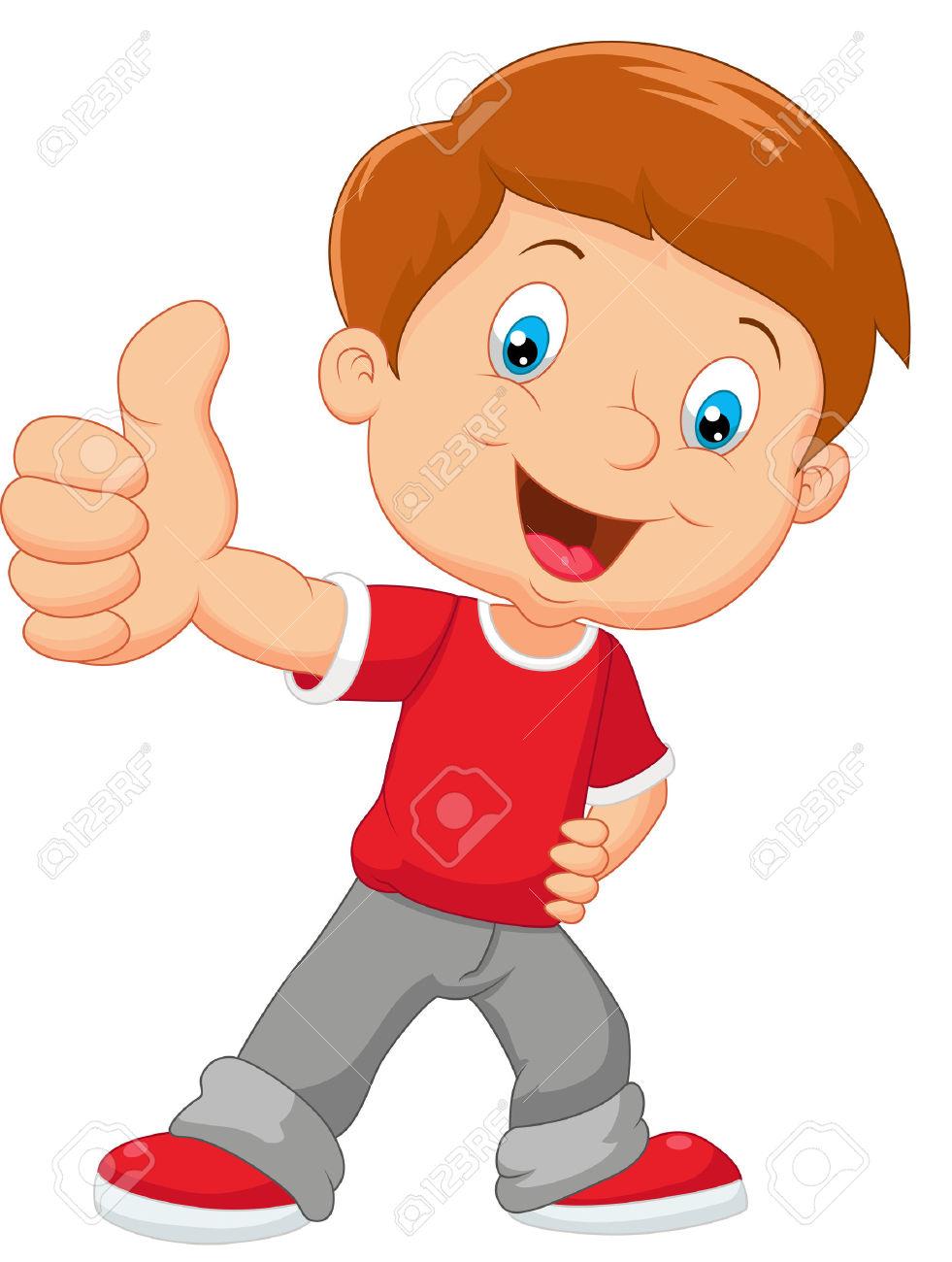 Boy thumbs up clipart clip art download Kid thumbs up clipart - ClipartFox clip art download