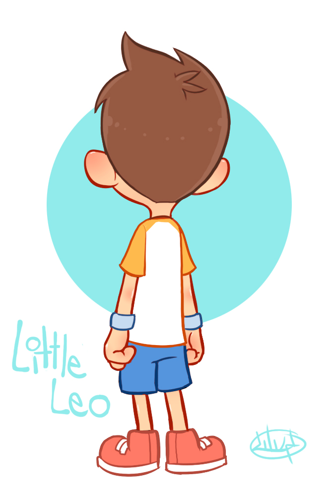 Boy turning around clipart svg freeuse download Little Leo Turn Around GIF by LuigiL on DeviantArt svg freeuse download