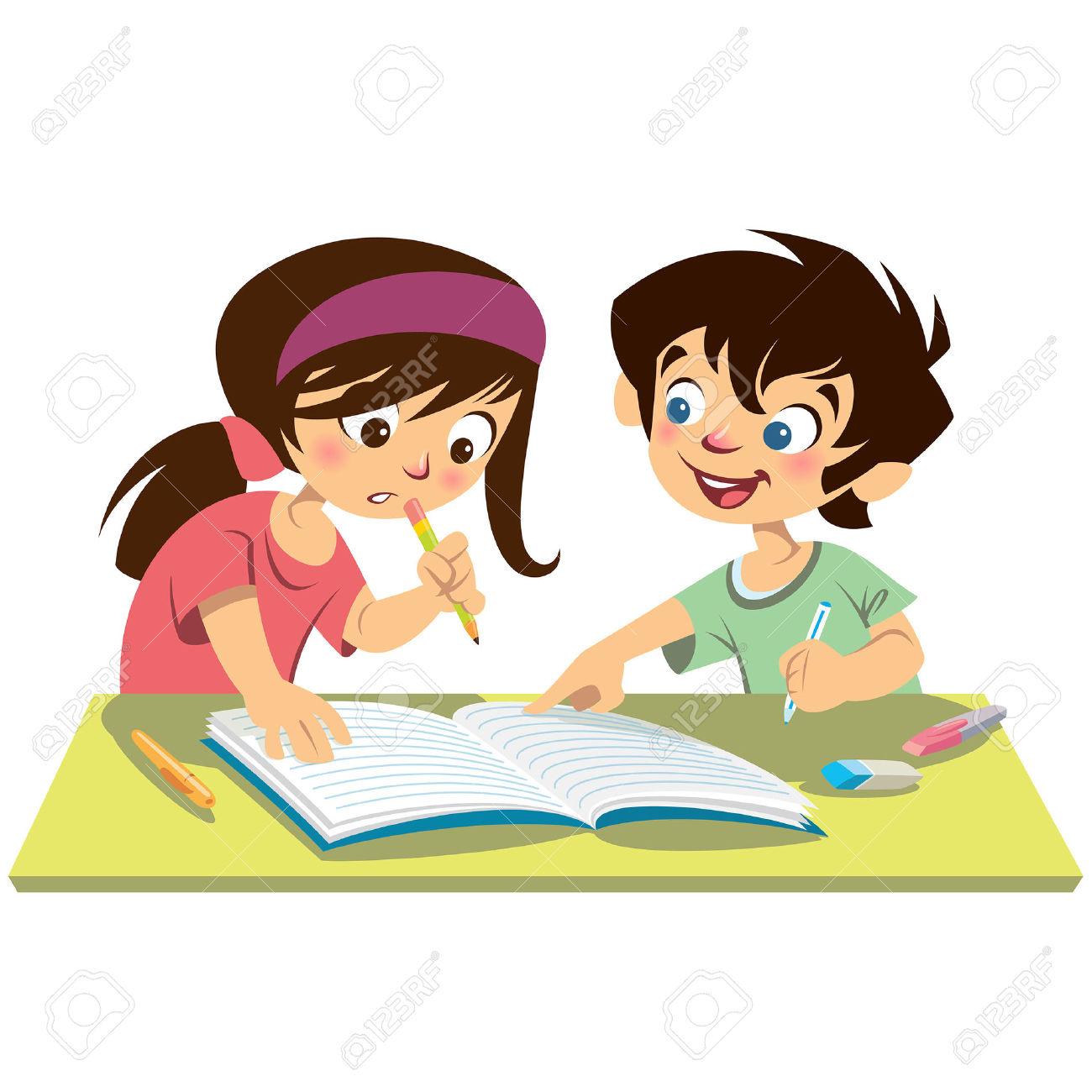 Boy turning in assignment clipart. Clipartfox homework children